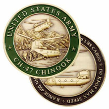 U.S. Army CH-47 Chinook Challenge Coin