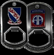 508th Parachute Infantry Regiment Dog Tag Bottle Opener