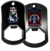 505th Parachute Infantry Regiment Dog Tag Bottle Opener