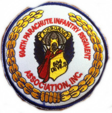 504th Parachute Infantry Regiment Association Patch