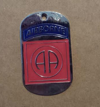 82nd Airborne Dog Tag