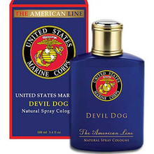"COLOGNE-U.S.MARINES ""DEVIL DOG"""