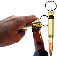 50 CAL BULLET BOTTLE OPENER KEY RING
