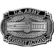 Combat Action Badge Buckle