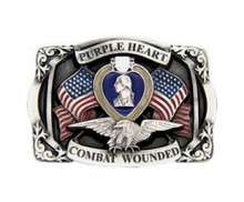 Purple Heart Buckle