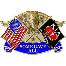 "KIA EAGLE ""SOME GAVE ALL"" Buckle"