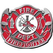 Fire Department Firefighter Buckle