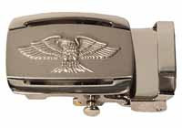 Silver Eagle Ratchet Buckle