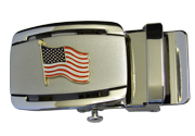 American Flag Ratchet Buckle