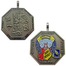 504 Parachute Infantry Regiment (504 PIR), 82nd Airborne Division St Michael Paratrooper Medallion