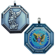 NORTHCOM / 5th ARMY St Michael Medallion