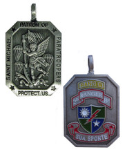 2/75 RANGER REGIMENT Saint Michael Medallion