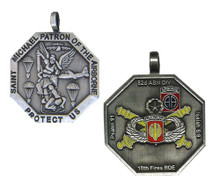 18th Fires Brigade, 82nd Airborne Division St Michael Medallion