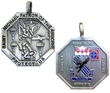 505th, 82nd Airborne Division St Michael Medallion