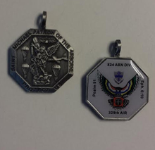 325th AIR, 82nd Airborne Division St Michael Medallion