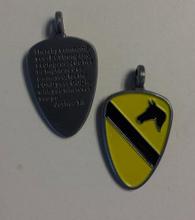 1st Cavalry Division Joshua 1:9 Medallion