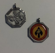 Saint Michael Patron of US Marines Special Operations Command Medallion