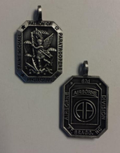 Saint Michael, Patron of Paratroopers Medal- 82ND AIRBORNE DIVISION