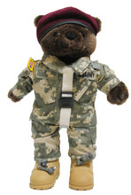Army Airborne Army Combat Uniform (ACU) Male - Mini bear