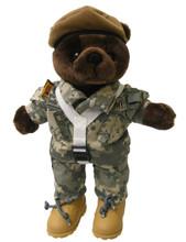 Army Ranger Army Combat Uniform (ACU) Male - Mini Bear