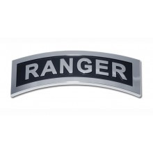 Army Chrome Auto Emblem (Ranger)