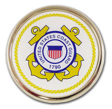 Coast Guard (White & Yellow Seal) Emblem