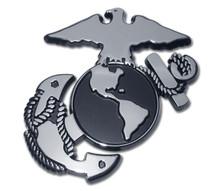 Marine Chrome Auto Emblem (Insignia)