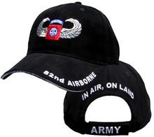 82ND AIRBORNE W/JUMPWINGS Baseball Cap