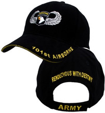 101ST AIRBORNE W/JUMPWINGS Baseball Cap