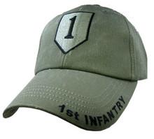 1ST INFANTRY OD GREEN Baseball Cap