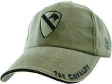 1ST CAVALRY (OD GREEN) Baseball Cap