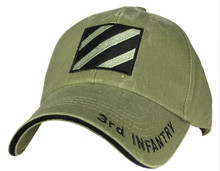 3RD INFANTRY (OD GREEN) Baseball Cap