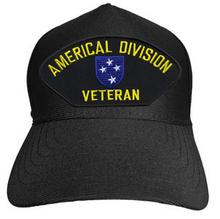 AMERICAL DIVISION VETERAN Baseball Cap
