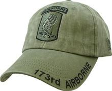 173RD AIRBORNE (OD GREEN) Baseball Cap