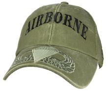AIRBORNE (OD GREEN) Baseball Cap