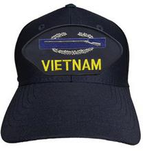 VIETNAM VETERAN (CIB) Baseball Cap