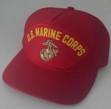 U.S. MARINE CORPS Red Baseball Cap