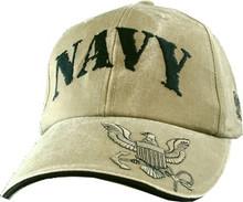 US NAVY Khaki Baseball Cap