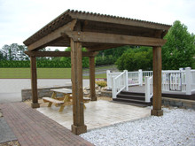 PERGOLA ARBOR Paper Pattern Plan BUILD LARGE WINDSOR SHADE SHELTER LIKE A EXPERT