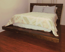 FLOATING PLATFORM BED Paper Patterns BUILD YOUR OWN SLEEK MODERN FRAME LIKE AN EXPERT Easy DIY Wood Plans