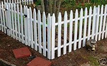 GARDEN FENCE Paper Patterns BUILD YOUR OWN CIVIL WAR PICKET STYLE Easy DIY Plans
