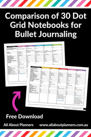 Dot Grid Notebooks Comparison