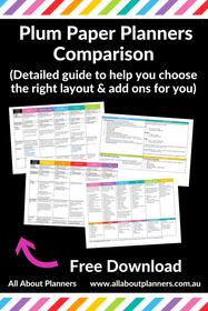Plum Paper Planners Comparison