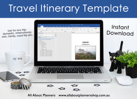 Travel Planning Itinerary (use in Word or Google Docs)