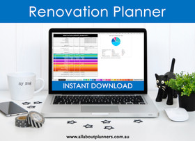Renovation Planning Excel spreadsheets