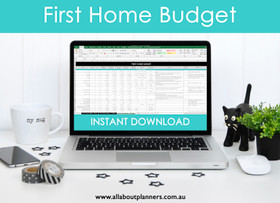 First Home Budget Spreadsheet