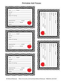 FREE Hall Pass - Teacher Printable