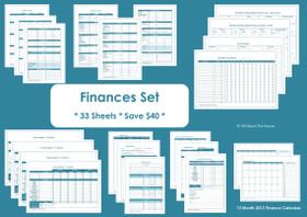 PURPLE - Money Management Printables - INSTANT DOWNLOAD