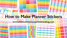 ECOURSE - How to make planner stickers