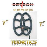 Detech 6x8 Coil for Teknetics T2 Metal Detectors